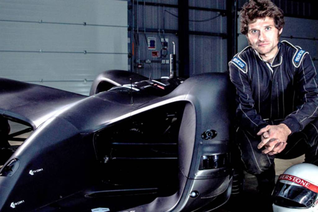Novatech keeps a foot in both camps as Guy Martin takes on the Robot Car -  Image 1